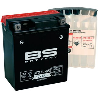 Batterie Typ BS YTX7L-BS