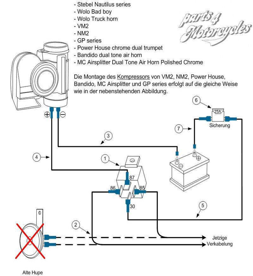 Wunderbar F250 Horn Schaltplan Bilder - Elektrische Schaltplan-Ideen ...