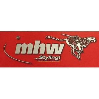 MHW Brake Caliper Spray Set Imola Red (RAL 3020)